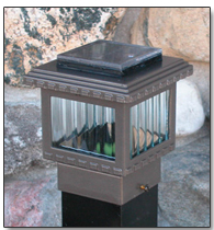 "2"" Polaris Solar Post Cap Light"
