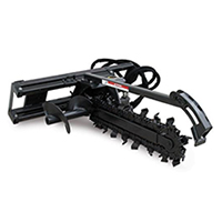 Triple S Power Regular Flow Trencher Skid Steer Attachment